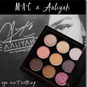 MAC Cosmetics X Aaliyah Eyeshadow Palette, BNIB